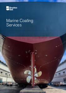 Marine Coating Services